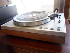 • Record Players • ⋅ Phillips 312 Electronic Turntable, 1970's ⋅
