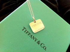 My 2011 NWM Tiffany necklace