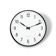 Arne Jacobsen Bahnhofs-Wanduhr, 21 cm – Rosendahl.dk