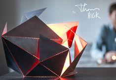 Origami Inspired Folding Lamp Hits Kickstarter (video)