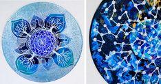 Art Therapist Paints Mandalas On Vinyl Records | Bored Panda
