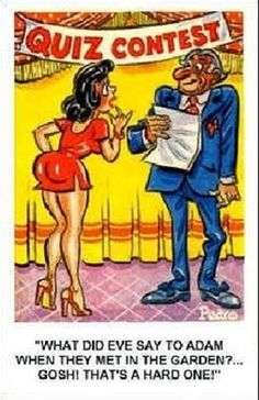 Funny images Cartoons that make you laugh Funny Cartoon Pictures, Cartoon Jokes, Sexy Cartoons, Funny Images, Funniest Cartoons, Cartoon Art, Old Comics, Vintage Comics, Funny Postcards