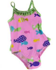 "Joe Boxer Baby Swimwear, Baby Girls ""Fishy Fun"" « Clothing Impulse"