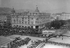 L'hôtel Ruhl construit par l'homme d'affaires Henry Ruhl sur la Promenade des Anglais circa 1930 à Nice France