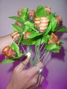 Wedding Bacon Roses ideas