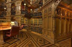 Biblioteca del Parlamento canadiense, Ottawa, Canadá.