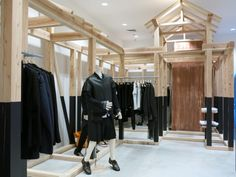 Dover Street Market fashion store opens in New York Fashion Store New York, Visual Merchandising, Outdoor Pavillion, Dover Street Market, Retail Store Design, Retail Shop, Retail Interior, Pop Up Shops, Comme Des Garcons