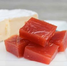 Quince paste from Quick Fix in the Thermomix Quince Paste Recipe, Relish Sauce, Quince Recipes, Thermomix Desserts, Cooking Recipes, Healthy Recipes, Finger Foods, Food Hacks, Food To Make