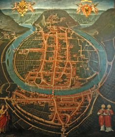 Old map of Besancon | Flickr - Photo Sharing!