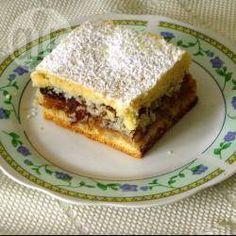 Foto recept: Appeltaart met noten-meringue