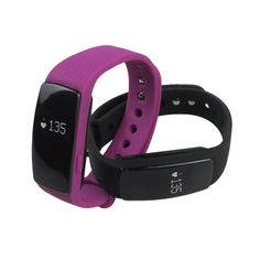 Big Screen Smart Fit Watch with HR Monitor and Activity + 1 Free Band