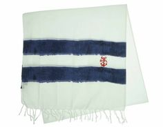 Ralph Lauren Men's Stripe Border Scarf $34.93