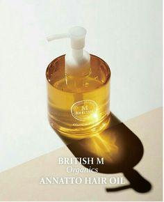 <British M> Organics Annatto Hair Oil korea cosmetic #BritishM