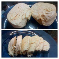Queso de kefir madurado