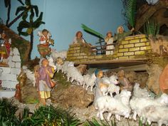 Miriam and Silas with their sheeps - Presepe 2012 - Fontanini Nativity