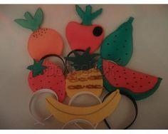 Diademas de frutas