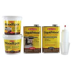 Wrk4qkr 4qt Wood Restoration Kit Abatron
