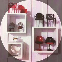 Mini cadeiras, coleção , design , miniaturas