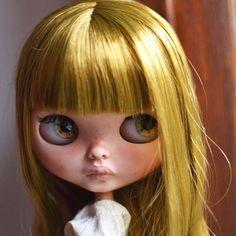 Custom Doll for Adoption by @soledadblythe  CHECK HERE  http://etsy.me/2hKRwQd  #blythe #dollycustom #blythecustom #blythecustomizer #ooakblythe #customblythe #kawaii #doll #artdoll #dollstagram #blythestagram #blythelover #ブライス