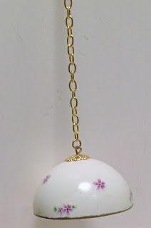 tutorial: miniature hanging lamp
