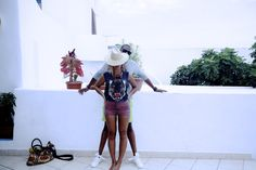 Jay Z and Beyonce #vacationstyle