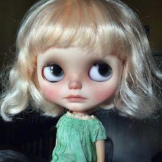 That pout. #Blythe #blythedoll #blythecustom #customblythe… | Flickr