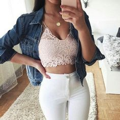 Ideas Skirt Outfits Dressy Crop Tops For 2019 Fashion 2017, Teen Fashion, Fashion Outfits, Punk Fashion, Dress Fashion, Fall Fashion, Fashion Beauty, Outfit Goals, My Outfit