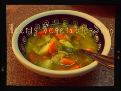 Vegan Recipe: Hearty Vegetable Soup