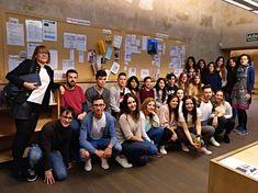 Visita de los alumnos de Biblioteconomía y Documentación de la Universidad de Salamanca. 9 de noviembre de 2017