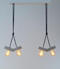 papilio: concrete lamp. pendant lamp. Ceiling light.