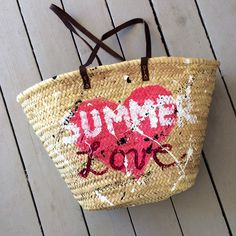 Summer love Beach bag  at www.storymood.com