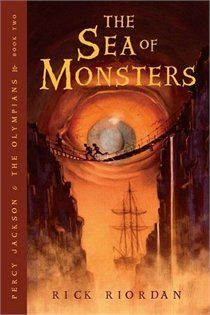 Percy Jackson & The Olympians: The Sea Of Monsters. Love this series of books!!
