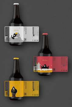 ULLA X ARK Beer on Packaging of the World - Creative Package Design GalleryYou can find Beer packaging and more on ou.