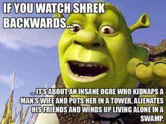 Shrek | 19 Movies That Would Be Hilarious Backwards