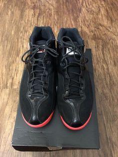 cf2b09f308ffb5 Men s Nike Air Jordan Jumpman Team 1 Black HT Basketball Shoe SIZE 11.5