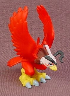 Digimon Aquilamon PVC Figure, 2 1/8 Inches Tall, 2000 Bandai