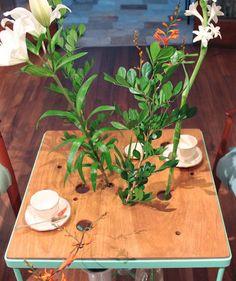 Mesita a tomar el té #atomarelte #recycle #mesa   #table