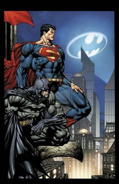 Superman and Batman by David Finch