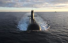 Download wallpapers HMAS Waller, SSG 75, Collins-class submarines, Royal Australian Navy, RAN, Submarine, sea, warships, Australia