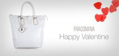 Quest'anno Fracomina ti propone una borsa ad alto tasso di romanticismo. Il regalo perfetto da farsi e da fare alla propria anima gemella, perché una bag per San Valentino…c'est chic! Shop it now> http://goo.gl/em5e3Z #happyvalentine #sanvalentine #sanvalentino #valentinegift #regalosanvalentino