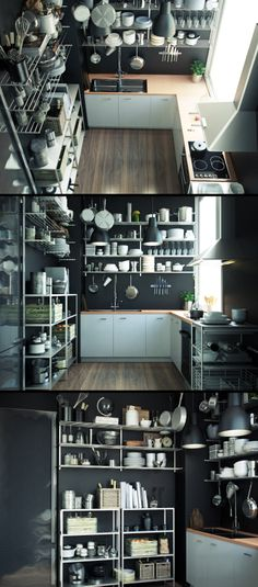 Kitchen Work by Can Yildirim
