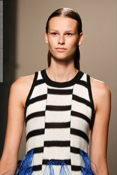 Thakoon (Spring-Summer 2015) R-T-W collection at New York Fashion Week (Details) #NewYork #Thakoon