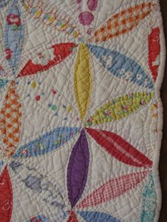 Collector With A Needle: Jacobs or Josephs Coat Vintage Quilt - All Hand Sewn UPDATED Crochet Thimble Holder Patterns