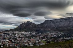 'UFO Clouds' Are Real. Cape Town on Sunday 8 November 2015