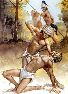 Mycenean Warriors