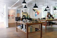 Gestalten design bookshop & art space, Berlin