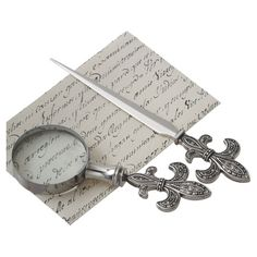 I pinned this Vernon Magnifying Glass & Letter Opener Set from the La Belle Boutique event at Joss and Main!