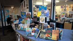 Counter display for seagoing adventures - true and fiction, for Sea Week 2017