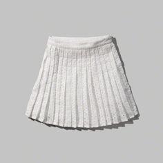 Eyelet Skater Skirt