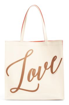 Large Love Icon Reversible Tote
